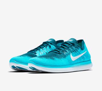 Nike-Free-RN-Run-Flyknit-2017-blau-seite-schraeg