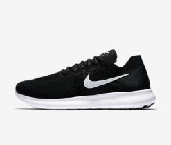 Nike-Free-RN-Run-Flyknit-2017-schwarz-black
