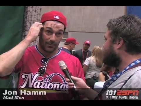 Jon Hamm Celebrity Softball