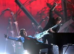 Metallica at The 2014 Grammys