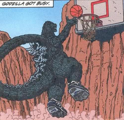Godzilla Extracurriculars