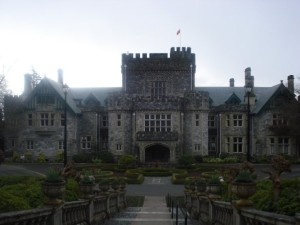 The Hatley Castle in British Columbia, Canada