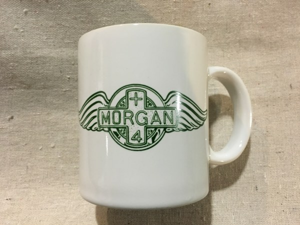 Morgan Coffee Mug With Green Logo - Sports & Classics