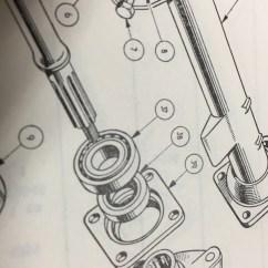 Pioneer Tr7 Wiring Diagram Of A Light Switch Triumph Tr3 Tr3a Tr3b Tr4 Tr4a Rear Hub Seal Solid Axle