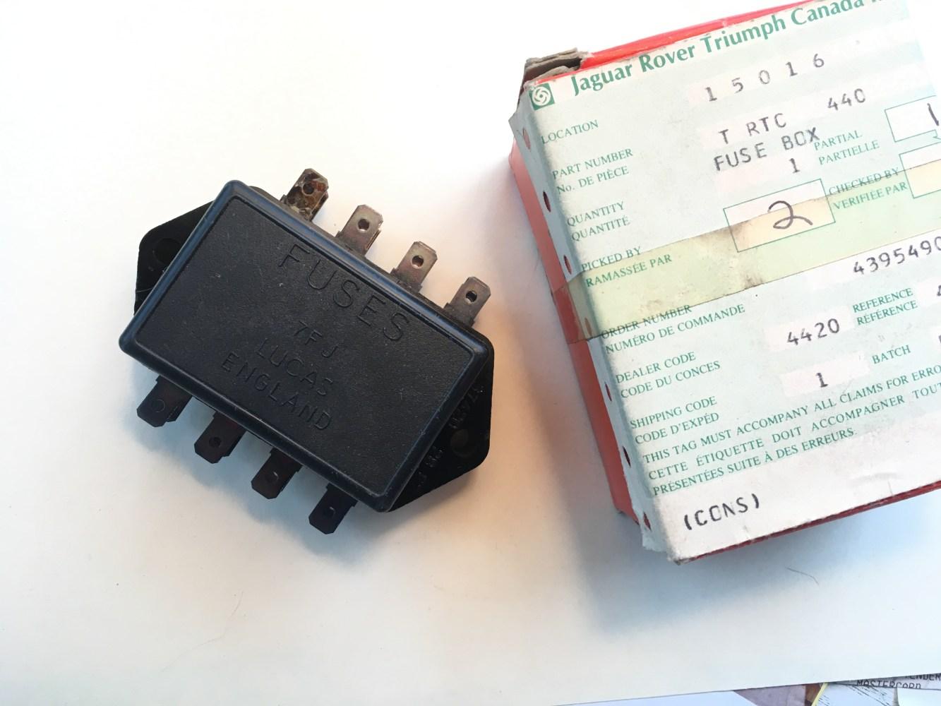 medium resolution of fuse box for triumph tr250 triumph tr2 wiring diagram