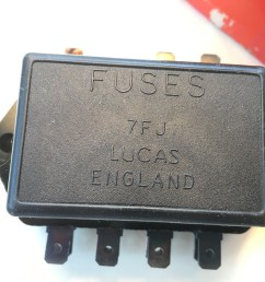 nos lucas fuse box lotus land rover triumph 37420 7fj sports uncategorized [ 4032 x 3024 Pixel ]