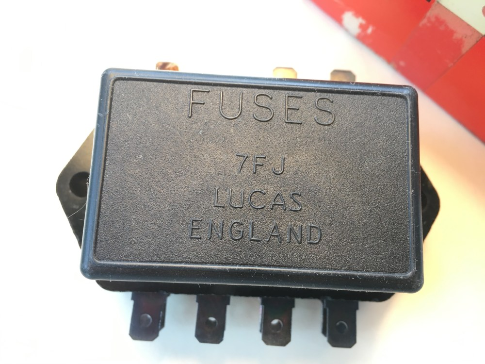 medium resolution of nos lucas fuse box lotus land rover triumph 37420 7fj sports uncategorized