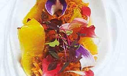 Ensalada de zanahoria y naranja, con canela y chía
