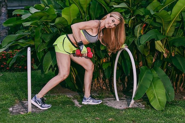 Rutina para trabajar los músculos de la espalda