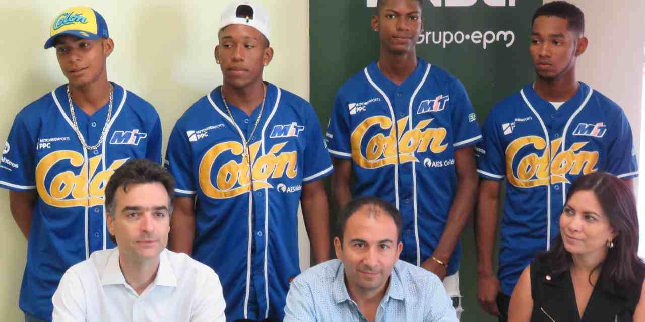 Por cuarto año consecutivo ENSA apoya a la selección de Béisbol de Colón