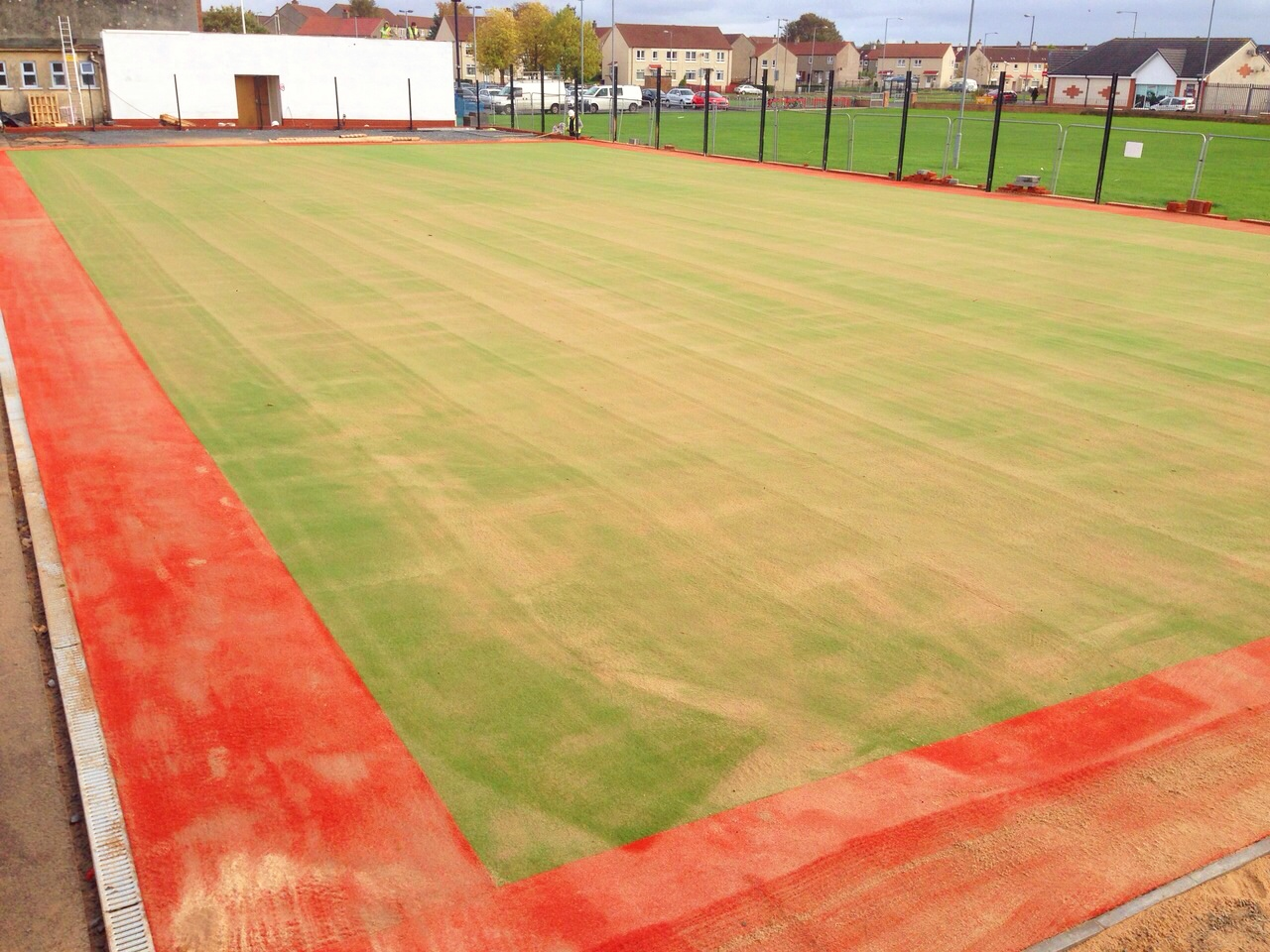 Multisport Synthetic Turf V Polymeric Rubber