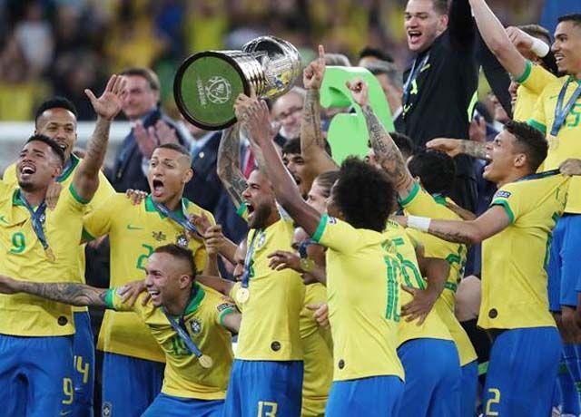 copa america win brazil
