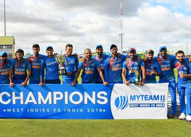 ind vs wi t20i : India to 3-0 series clean sweep