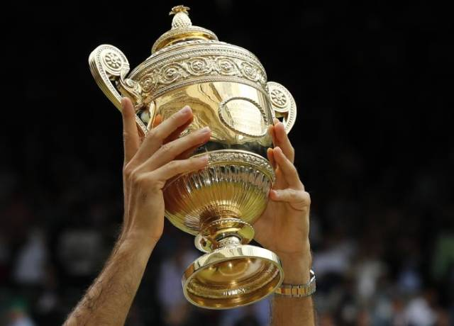 This player has the record of winning the most Wimbledon titles
