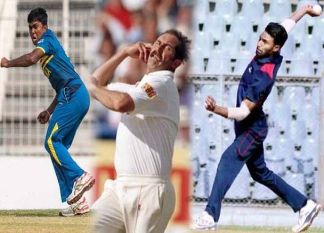 This is the 5 bowlers of the cricket world who bowled with both hands