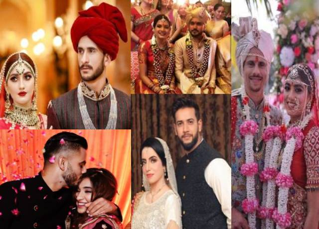9 famous cricketers who got married in 2019