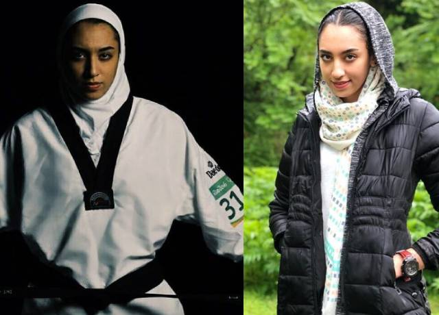 Why Iran's only female Olympic medalist had to leave the country?