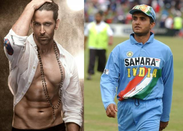 Hrithik Roshan may play lead role in Sourav Ganguly's a biopic