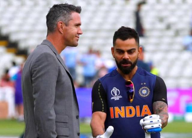 Kohli opens up on his favourite batting partner in an interview with Pietersen