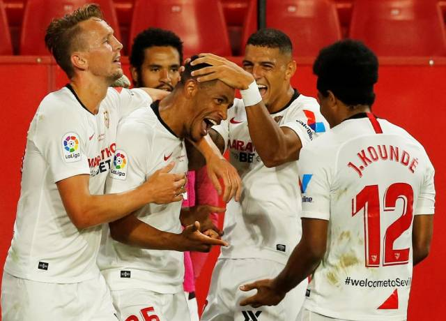 La Liga returns : Sevilla beat Real Betis 2-0