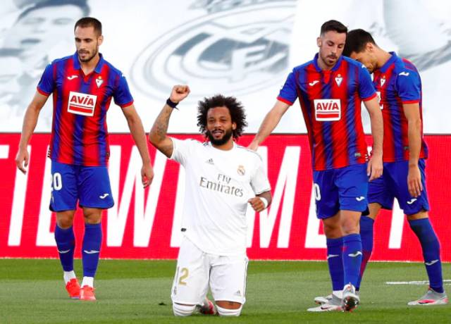 La Liga : Real Madrid beat Eibar 3-1