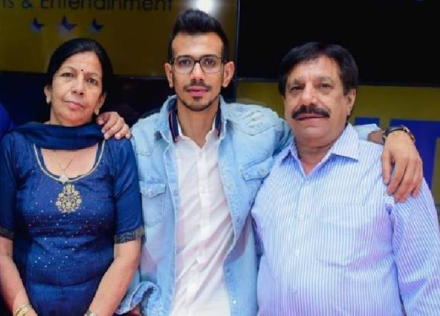 Yuzvendra Chahal Family