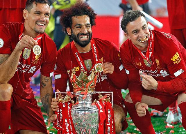 Liverpool beat Chelsea in eight-goal thriller before lifting Premier League Title