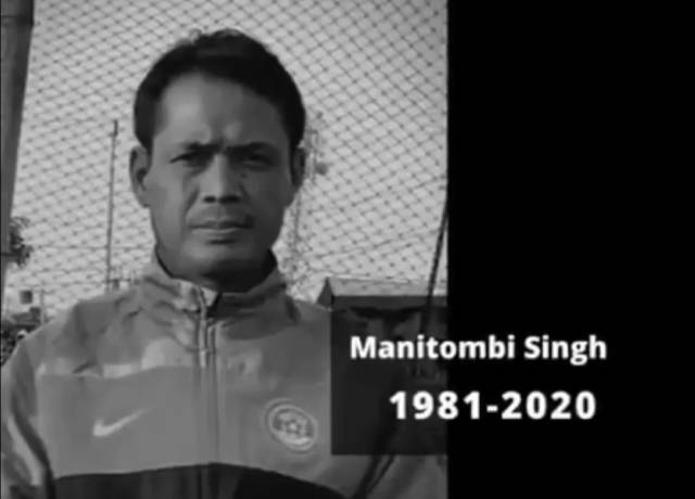 Indian footballer Manitombi died at the age of 39, was ill for a long time