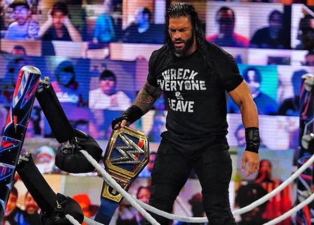 Roman beat Braun Strowman and the fiend to become universal champion