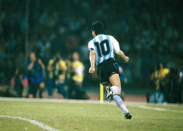 The place where no one sheds tears in the memory of Maradona