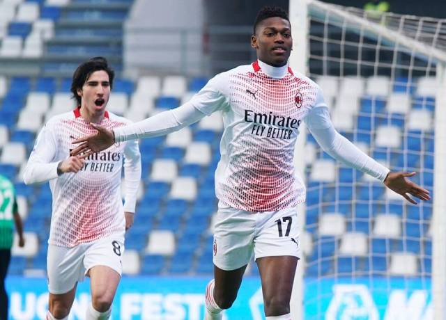 Rafael Leao of AC Milan made a record by scoring this goal