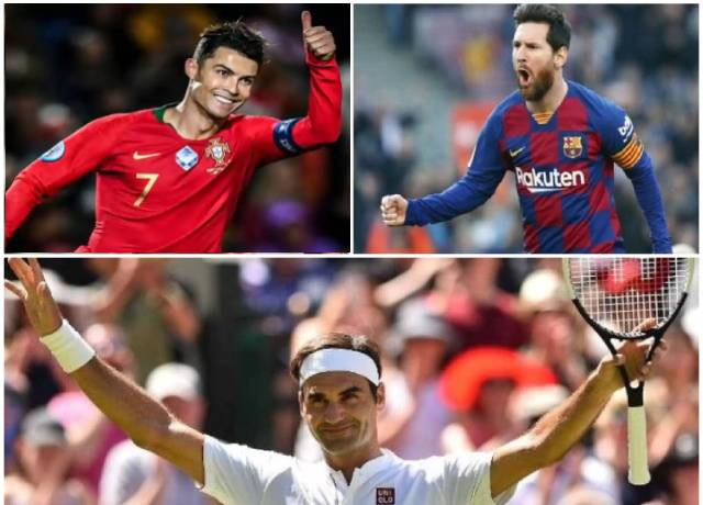Forbes 2020: Ronaldo, Federer and Messi join the list of highest grossing syllabus