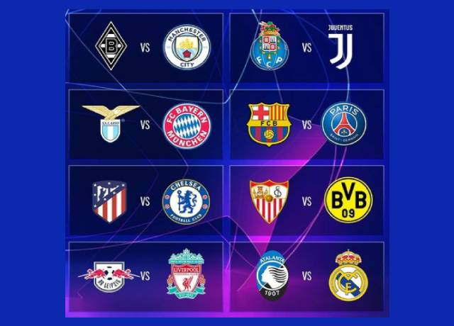 UCL: Round-of-16 draws announced
