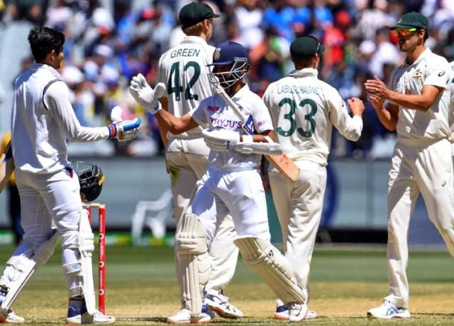 AUS vs IND 3rd test : live streaming & score