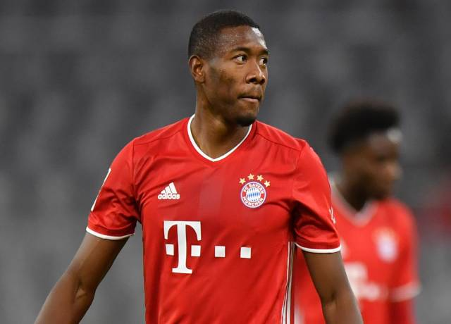 Would David Alaba replace Ramos?