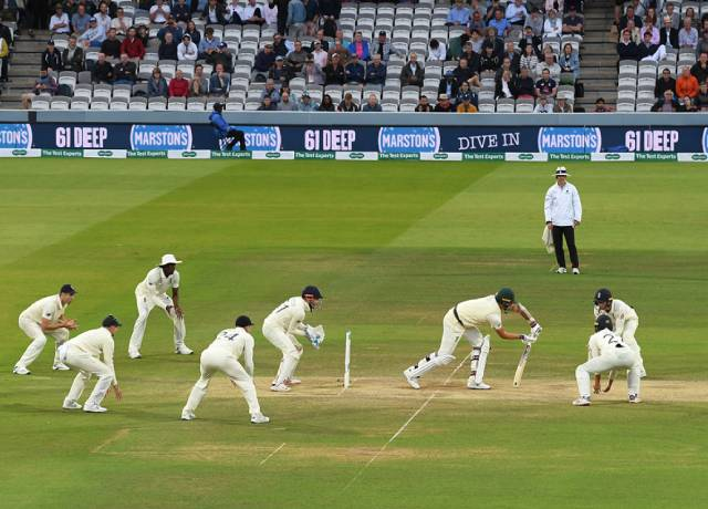 Top 5 Teams with totals of 600 or more runs in Test Cricket