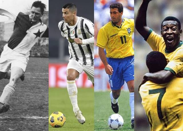 Top 10 highest goal scorers of all-time