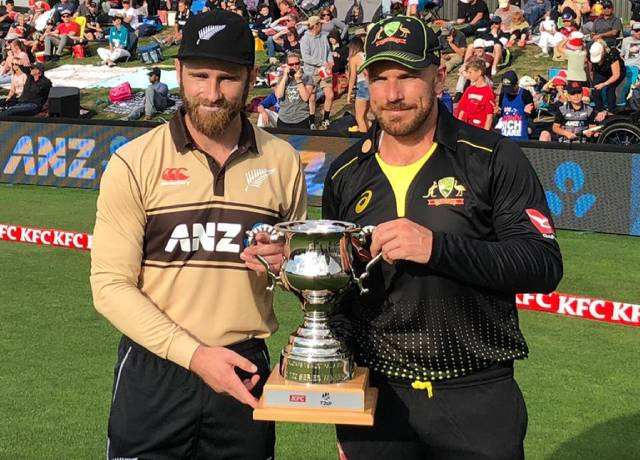NZ vs AUS 1st T20I match : New Zealand won by 53 runs