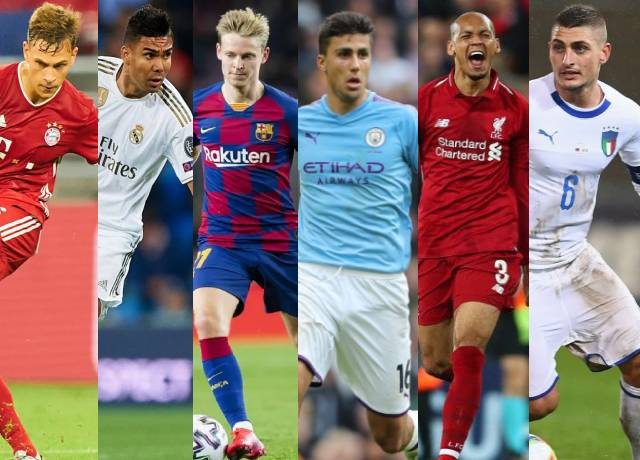 Most valuable defensive mid-fielders in the world