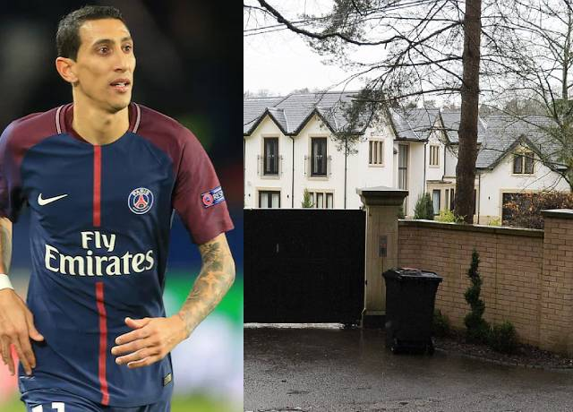 Robbers sneaks into Angel Di Maria's home and did this to his family
