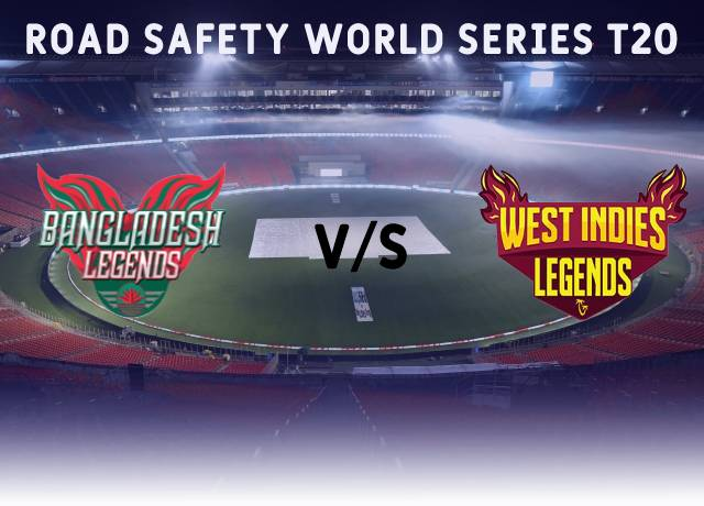 Road Safety World Series T20 : BANL vs WIL 12th match live score