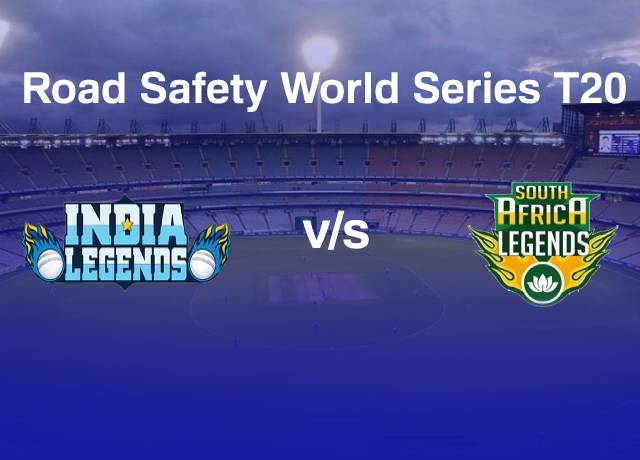 Road Safety World Series T20 : INDL vs RSAL 13th match live score
