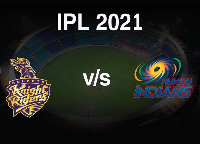 VIVO IPL 2021 : KKR vs MI 5th Match live streaming & score