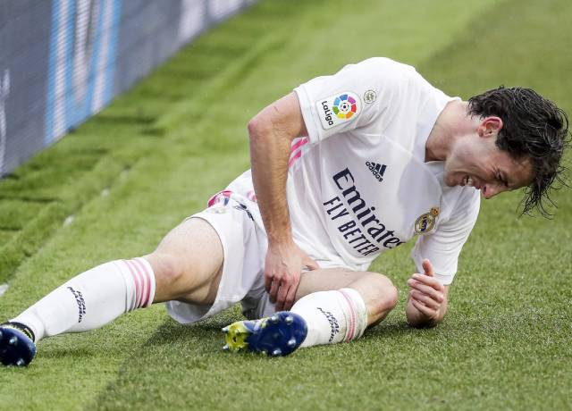Real Madrid have some serious relations with injuries this season
