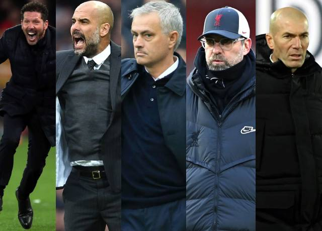 Highest paid managers in Europe's top 5 leagues