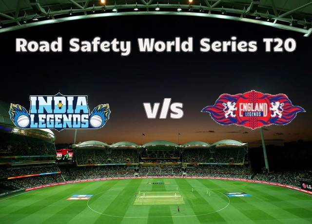 Road Safety World Series T20 : INDL vs ENGL 9th match live score