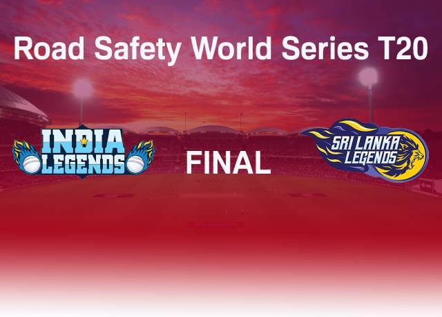 Road Safety World Series T20 : INDL vs SLL Final match live score