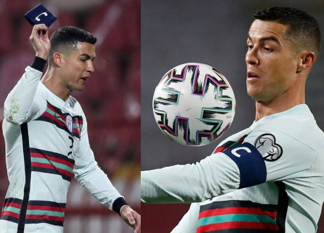 Cristiano Ronaldo's armband helps a 6 month old suffering boy