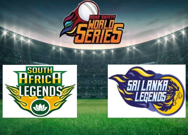 Road Safety World Series T20 : RSAL vs SLL 8th Match live score