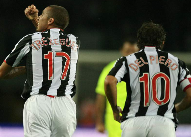 Alessandro Del Piero and David Trezeguet